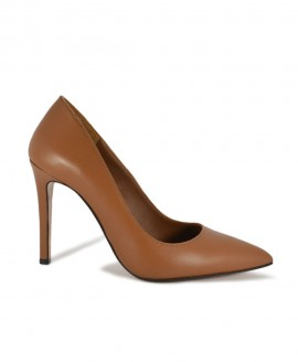 Taba Leather Pointed Pumps Mod.2398